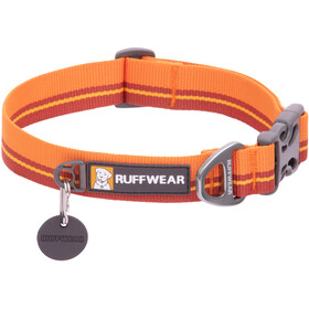 Ruffwear Flat Out Collar, orange/rouge